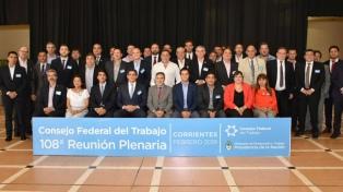"""Piden a las provincias trabajar junto a la Nación para lograr """"un escenario mejor"""" en lo laboral"""