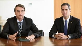 """Bolsonaro: """"Si Trump puede conversar con Kim yo puedo hablar con Maduro"""""""