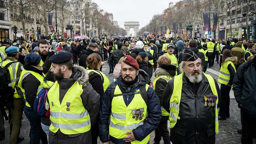 Francia ha sentenciado a 2 mil 'chalecos amarillos' [Internacional]