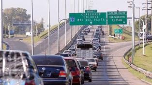 Unos 31.000 vehículos circularon hacia la Costa Atlántica por el éxodo turístico