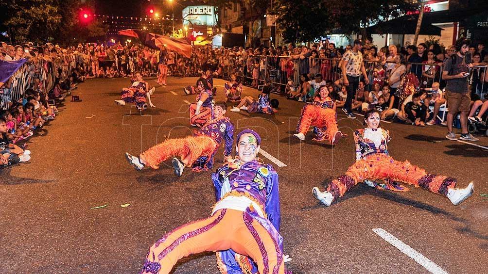 Más de 60 mil personas disfrutaron del carnaval en Buenos Aires