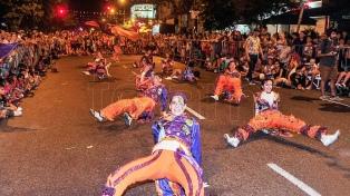 El cierre del Carnaval porteño será el lunes en Avenida de Mayo