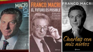 Franco Macri expuso su pensamiento a través de tres libros