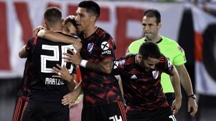 River goleó a Newell's y busca un lugar en la Libertadores 2020
