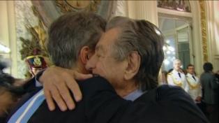 Mauricio Macri despidió a su padre en un cementerio de Pilar