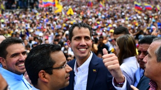 El representante de Guaidó tomó el control de tres edificios venezolanos en Washington y Nueva York