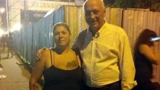 Bonfatti denunció una campaña por una foto junto a la ex de un narco
