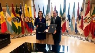 Sica se reunió con empresarios españoles y firmó un pacto por la igualdad de género