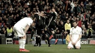 El tricampeón Real Madrid se quedó afuera de la Champions League