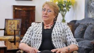 Bachelet inició una crucial visita a la convulsionada Venezuela