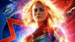 "Llega ""Capitana Marvel"", la ""Mujer Maravilla"" de los Avengers"
