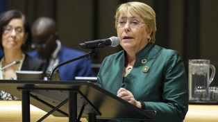 Preocupada por la Amazonia, Bachelet retoma la polémica con Bolsonaro