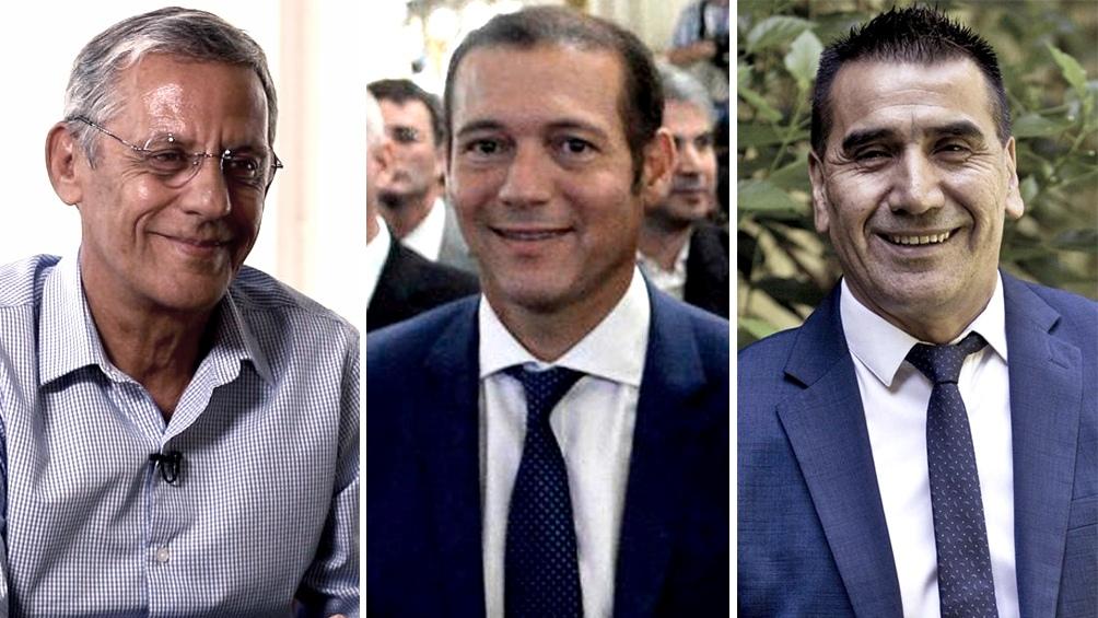 Horacio Quiroga, Omar Gutierrez y Ramon Rioseco