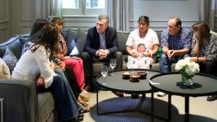 Macri recibió a familiares de víctimas de femicidios