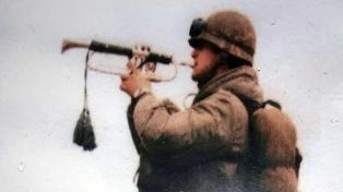 La trompeta que volverá a sonar en Malvinas 37 años después