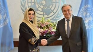 Adela Raz es la primera mujer embajadora del país ante la ONU