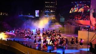 Con más de 800 artistas en escena, terminó la Fiesta Nacional de la Vendimia