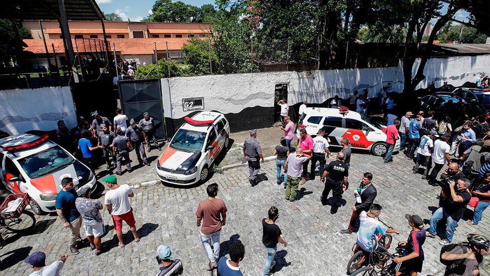 Detienen a un joven de 17 años por la masacre de la escuela en San Pablo