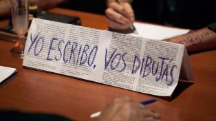 """Federico León propone una particular experiencia teatral en """"Yo escribo. Vos dibujás"""""""