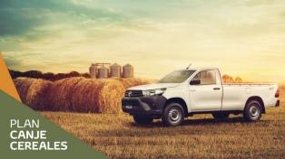 Las empresas se suman a la modalidad de canje de granos por vehículos e insumos