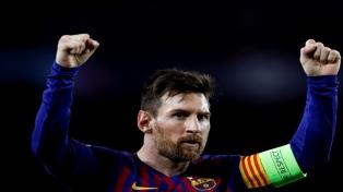 Messi brilló y llevó al Barcelona a los cuartos de final de la Champion