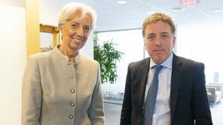 Lagarde ratificó el apoyo del FMI al programa de reformas del Gobierno