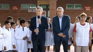 """Macri afirmó que antes se escondía """"bajo la alfombra"""" el funcionamiento de la educación"""