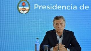 """Macri: """"La economía va a tomar impulso en la medida que se despeje la duda política"""""""