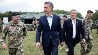 """Macri dijo que en su gestión hubo un """"cambio histórico"""" en la custodia de las fronteras"""