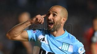 Lisandro López se perderá el partido de ida ante Estudiantes por una dolencia muscular