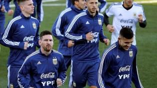 La Argentina cumplió su segundo entrenamiento en Madrid