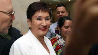 Un juzgado ordenó el arresto de una candidata presidencial