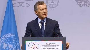 """Macri, ante un foro de la ONU: """"Pueden contar con la Argentina"""""""