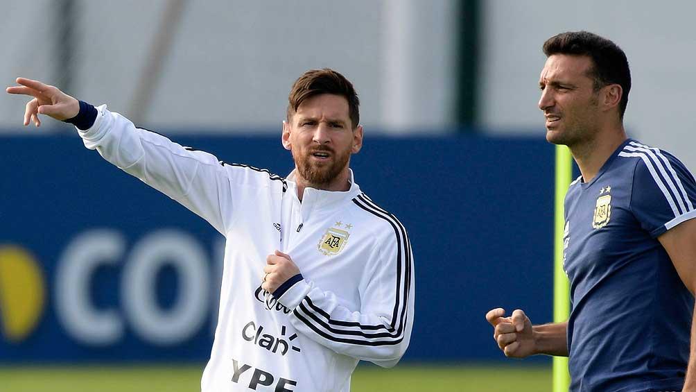 Messi lidera la lista de Argentina para el debut en las Eliminatorias