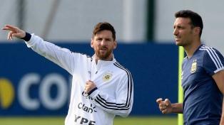 """Messi: """"Quiero ganar algo con la Selección"""""""