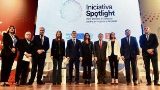 """Macri abogó por terminar con la violencia contra la mujer """"para siempre"""""""