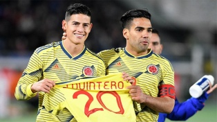 Colombia, con el debut del entrenador portugués Queiroz, venció a Japón