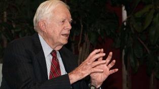 Jimmy Carter se recupera tras ser operado de una hemorragia cerebral