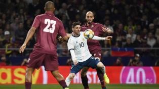 Venezuela goleó a la Argentina