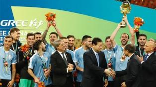 Uruguay venció a Tailandia y se adjudicó la Copa China de fútbol