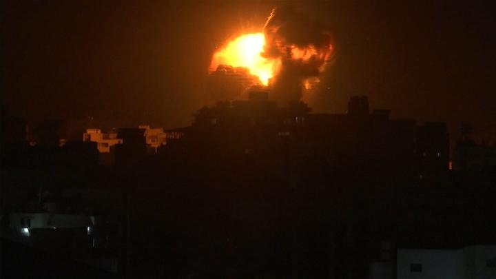 El Ejército bombardea Gaza tras el lanzamiento de dos cohetes contra su territorio