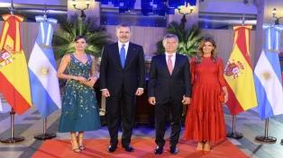 """Macri: """"La historia ha demostrado que los españoles son de los mejores socios que tenemos"""""""