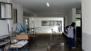 Vidal pidió apoyo para la ley contra el vandalismo en las escuelas