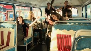La orquesta femenina Sciammarella Tango se presenta en el Tasso