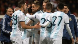 Argentina se despidió de los hinchas con una goleada ante Nicaragua