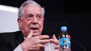 """Vargas Llosa publicará nueva novela en octubre que se llamará """"Tiempos resus"""""""