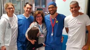 Realizan el primer autotrasplante pulmonar pediátrico