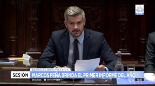 """Peña: """"Todavía hay sectores políticos que agitan soluciones mágicas que fracasaron"""""""