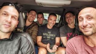 Ginóbili y sus amigos de la Selección, juntos en San Antonio