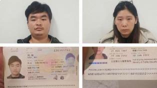 Detuvieron en Dubai a la pareja de chinos acusada de triple crimen en Junín